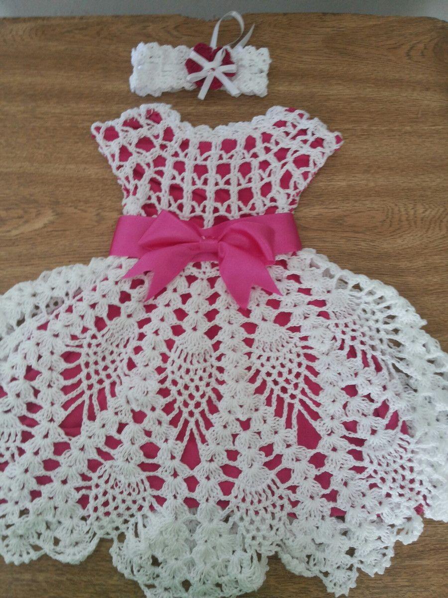Imagem Relacionada Crochê Vestidos De Crochê Infantil