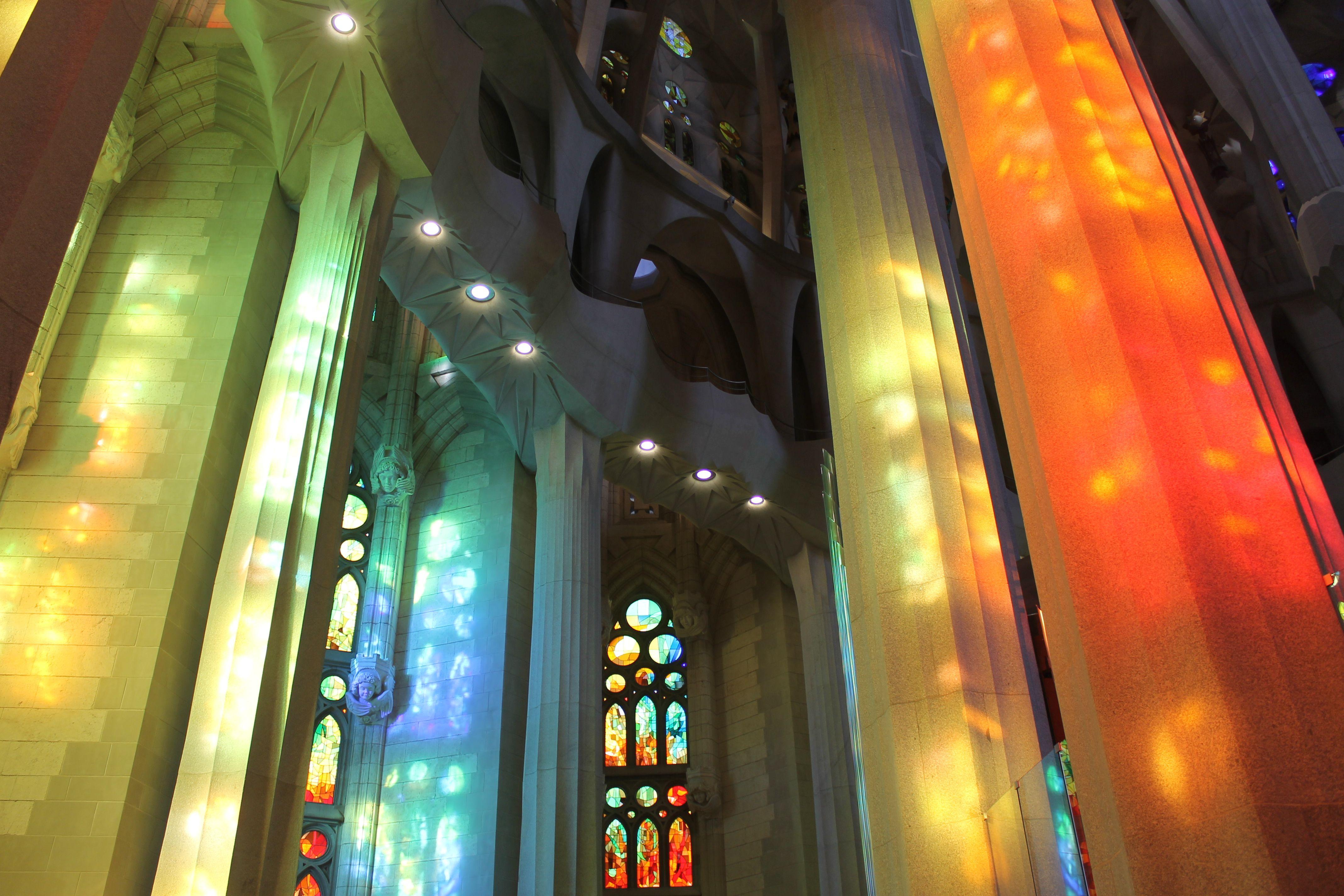 Sagrada Familia. Barcelona. Colores