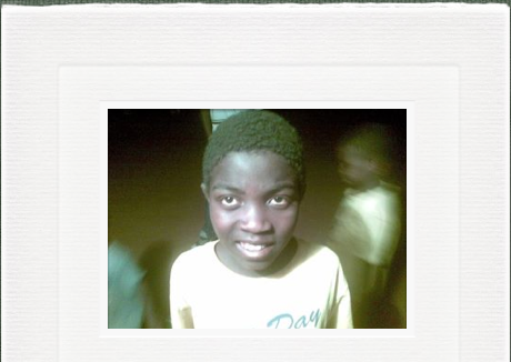 www.no1without.com  James Alli can now go to school and participate with the Grassroots Soccer Academy in his community.