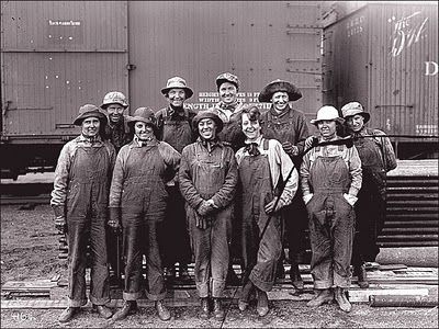 railroad gals from the 1900's