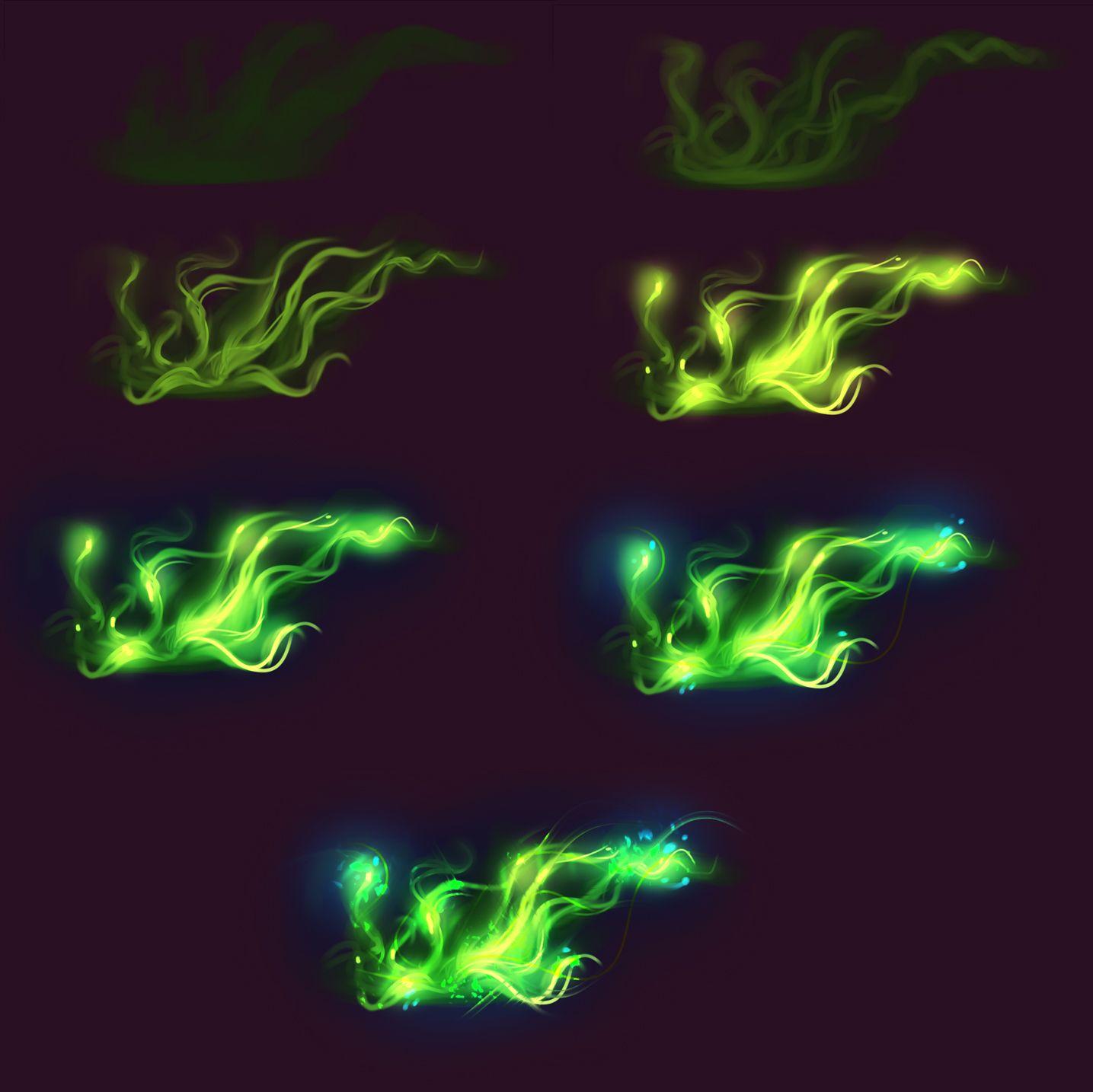 Green magic - tutorial by ryky.deviantart.com on @deviantART