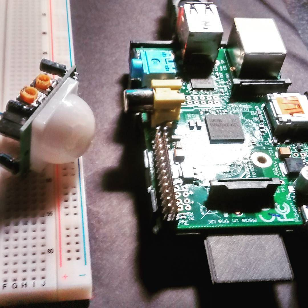 Something we loved from Instagram! #PIRmotionsensor #Rpi #RaspberryPi by rwangca Check us out http://bit.ly/1KyLetq