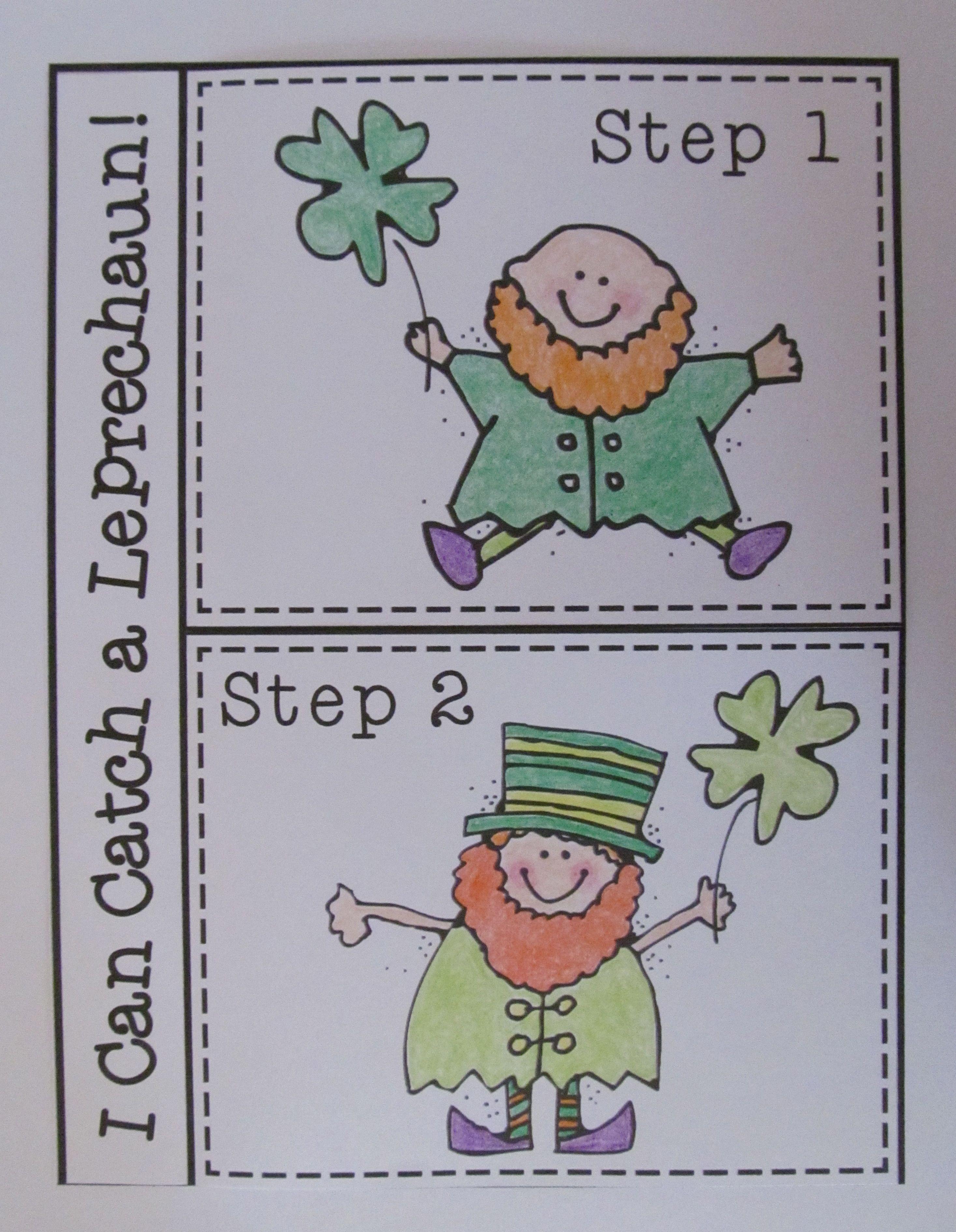 St Patrick S Day Writing Kindergarten