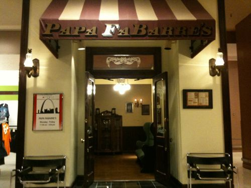 Papa Fabarre S Restaurant In Famous Barr Department St Louis