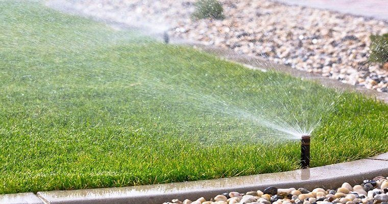 Sprinkler systems can be programmed to only run during certain parts of the day and for a specific amount of time. This eliminates over-watering. When sprinklers are set up on timers, you don't have to worry about turning them on and off. Systems can be programmed to accommodate your lawn's moisture needs during different times of the year.