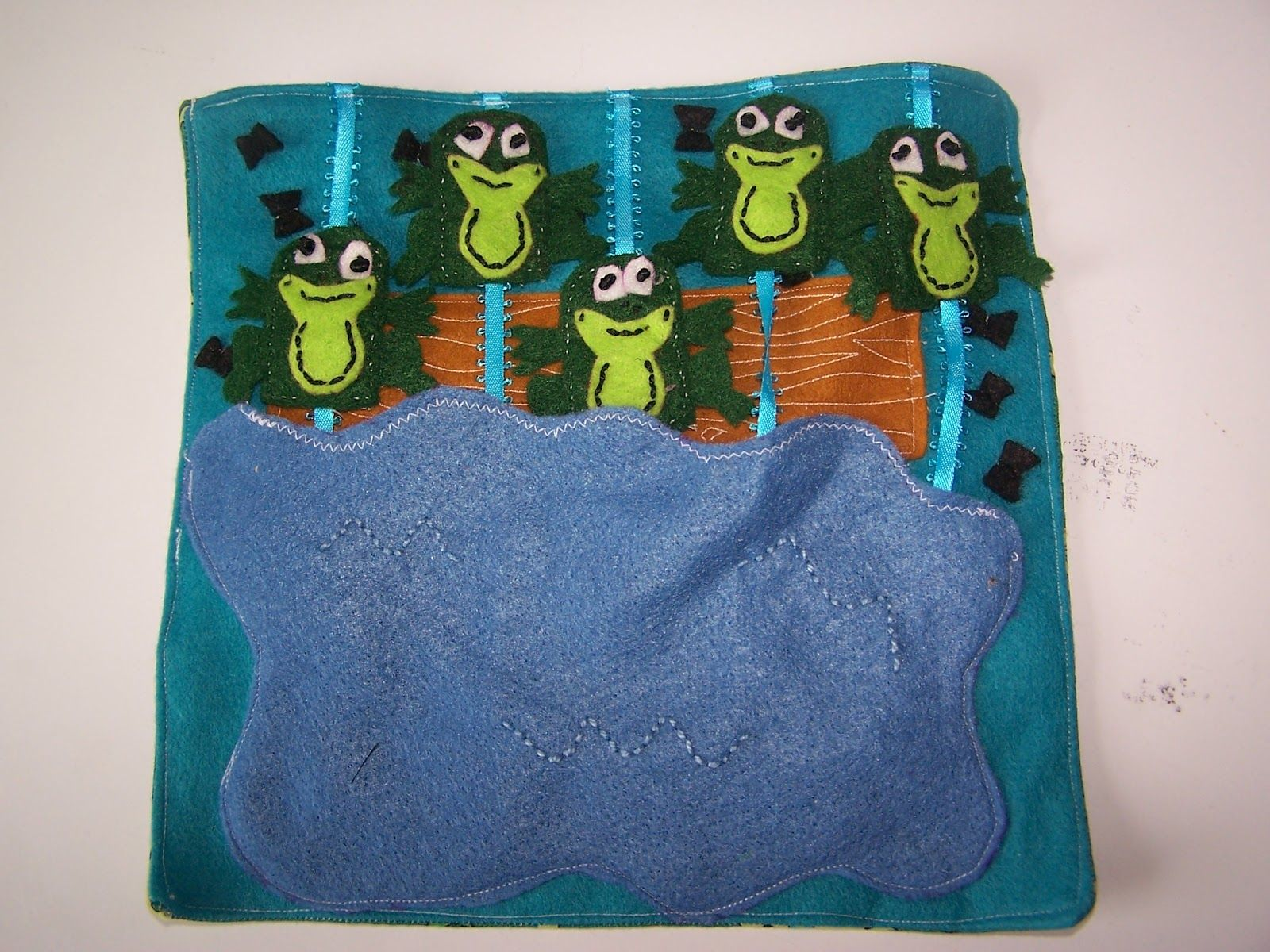 Image Result For Frog Page Quiet Book