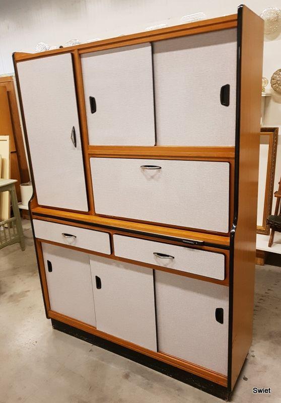 Vintage Retro Meubels.Formica Vintage Keukenkast Meubels Swiet Vintage Retro Kitchen