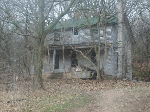 Abandoned home in Baraboo, WI.