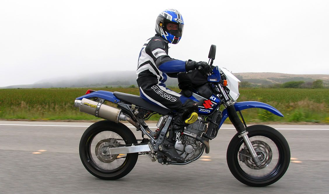 Suzuki Drzs Supermoto Conversion