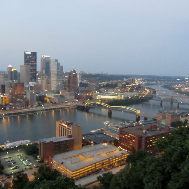 Overlook Of Pittsburgh From Mt. Washington, PA