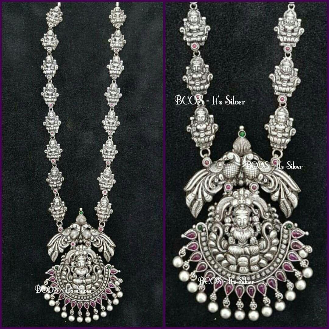 2be8fc1767053 Pinterest • @KrutiChevli | Beads in 2019 | Silver jewellery indian ...