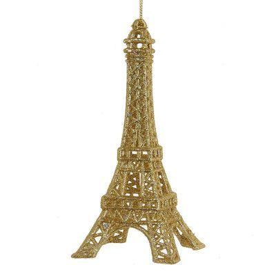 Kurt Adler Acrylic Eiffel Tower Ornament Products Pinterest