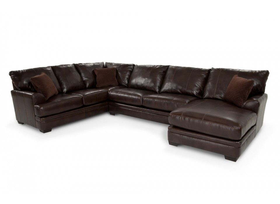 My Allure Bonded Leather Sectional Cannot Be Beat Looks Great Sits Great It S Easy On Th Bob S Discount Furniture Bobs Furniture Bobs Furniture Living Room