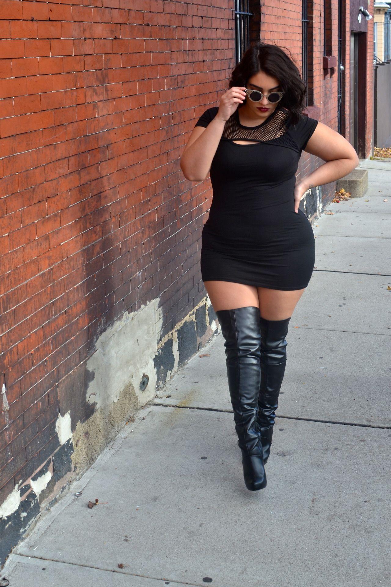 Curvy is the new black pretty girls fashion sexy plus size model