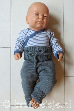 Verrassend Patroon babybroekje breien (met afbeeldingen) | Breien, Breien LL-13