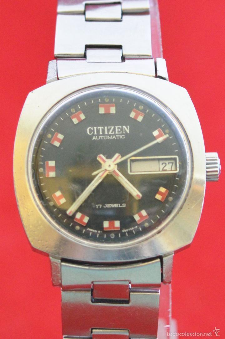 3cdbf97f3134 MAGNIFICO RELOJ DE PULSERA AUTOMATICO 17 RUBIS CITIZEN DE MUJER FUNCIONANDO  Relojes Orient
