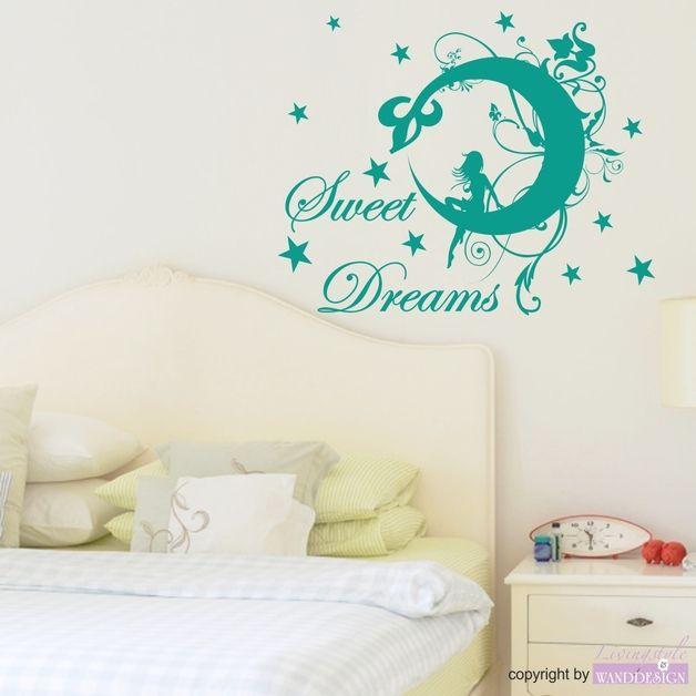 Farbpalette Wand: Wandtattoo Sweet Dreams Elfe (mit Bildern)