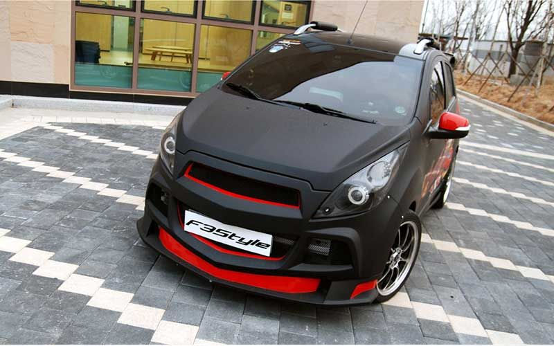K Tuning Offers F3s Lip Type Body Kit Aeroparts Front Side Set For 2011 2013 Chevrolet Spark Matiz Creative Price Autos Modificados Chevrolet Spark Spark Gt