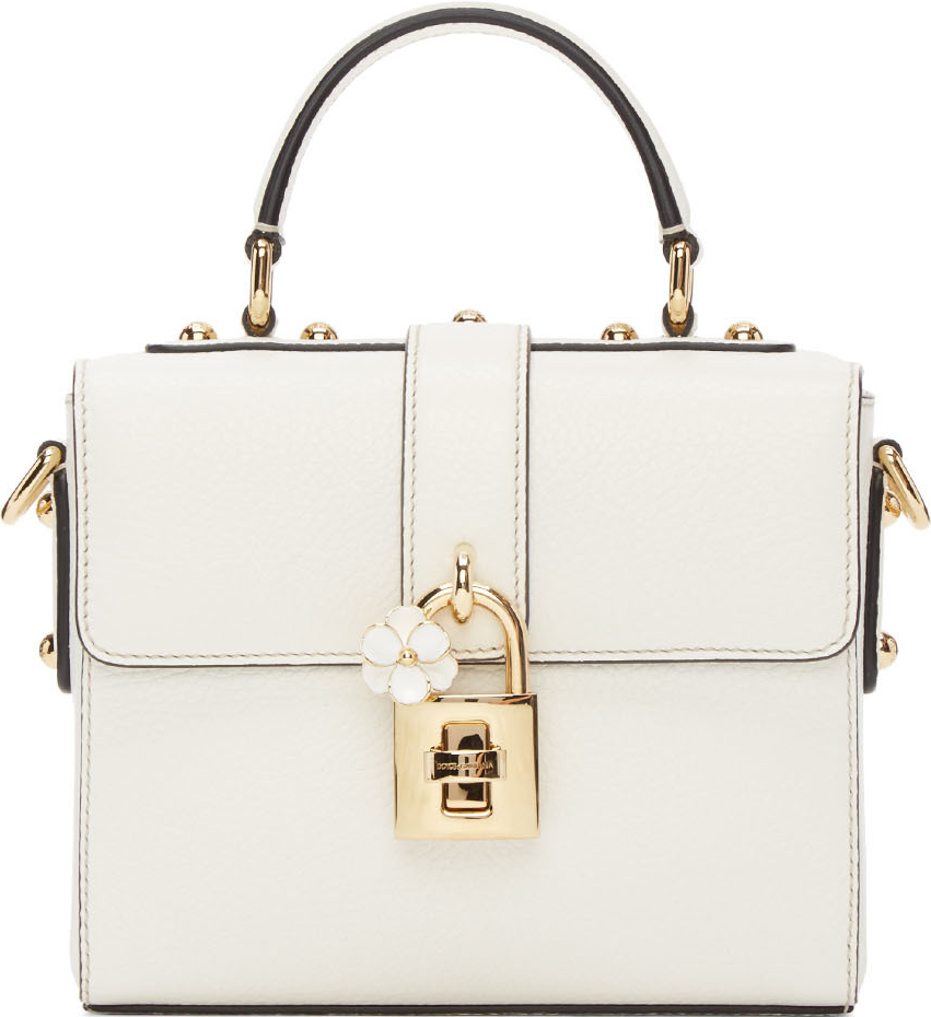 Dolce   Gabbana White Small  Dolce Soft  Top Handle Bag  b0772d33ab9ca