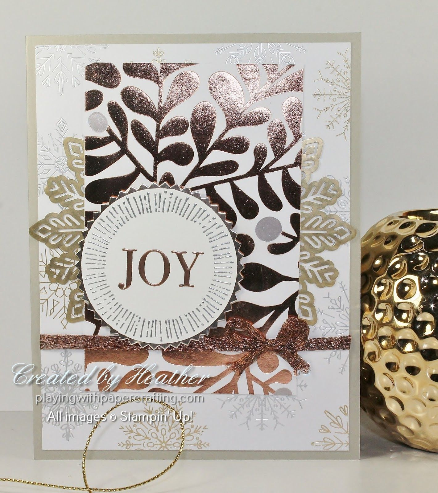 The Year of Cheer Suite from the Stampin\' Up! Holiday Catalogue is ...