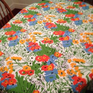 Vera Neumann Bright, Fun Tablecloth