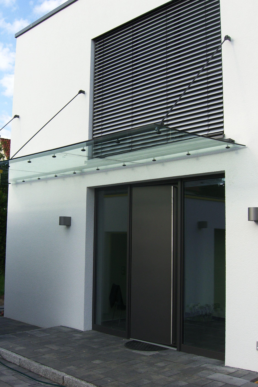 Glas Vordach Tubo für großflächige Überdachungen | Pinterest ...