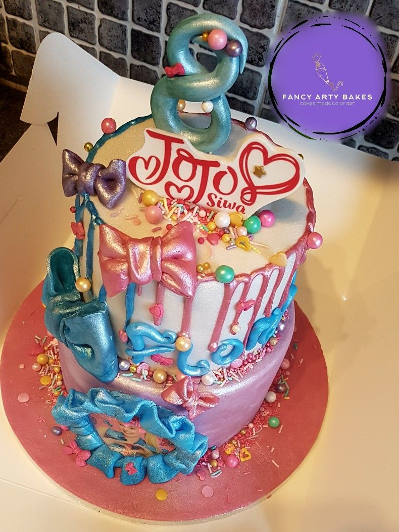 Jojo siwa cake Jojo siwa birthday cake