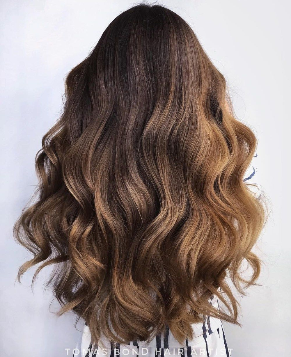60 Most Magnetizing Hairstyles For Thick Wavy Hair Long Wavy Haircuts Wavy Haircuts Long Hair Styles
