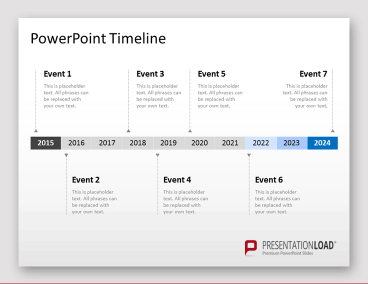Animierten Zeitstrahl In Powerpoint Erstellen 2020 Youtube