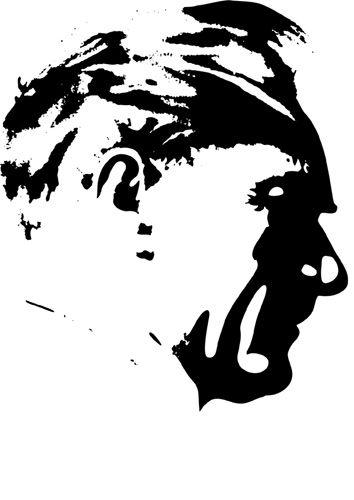 Mustafa Kemal Ataturk Silhouette DUVAR katlar t Free