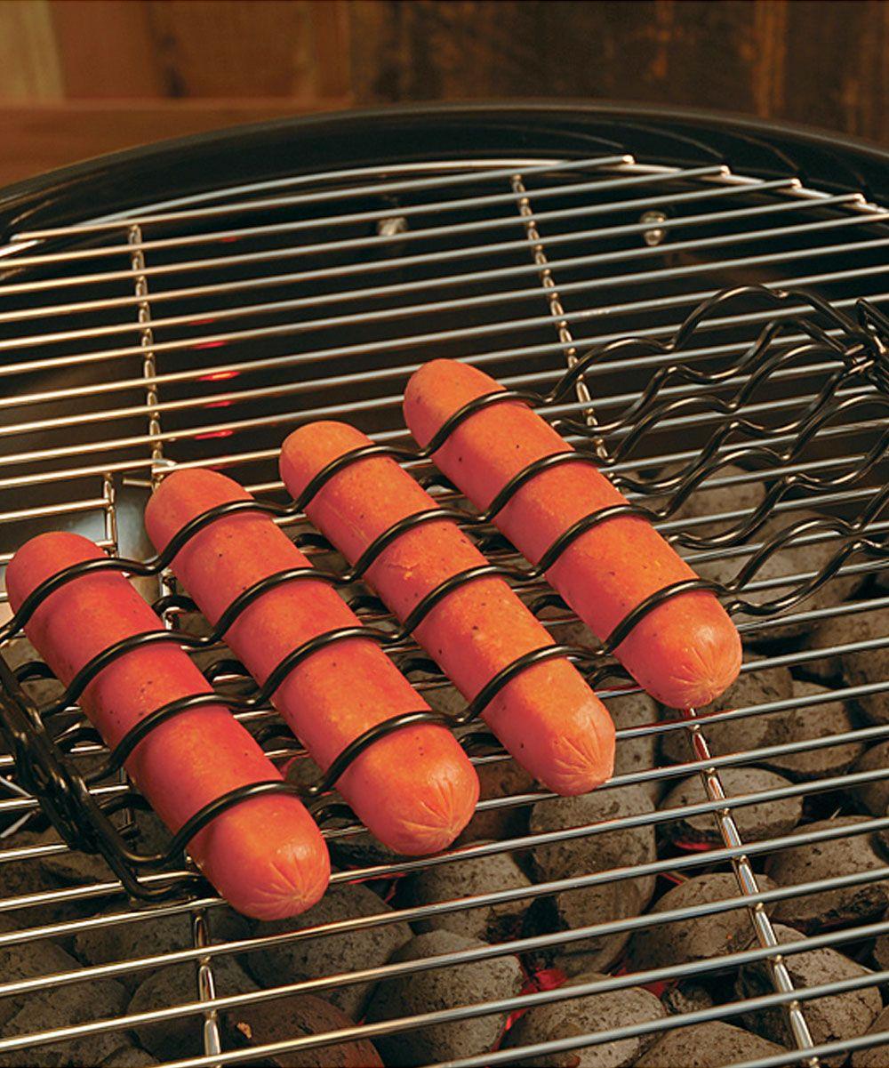 sausage grilling basket | 'gear: wares - grill gadgets | pinterest