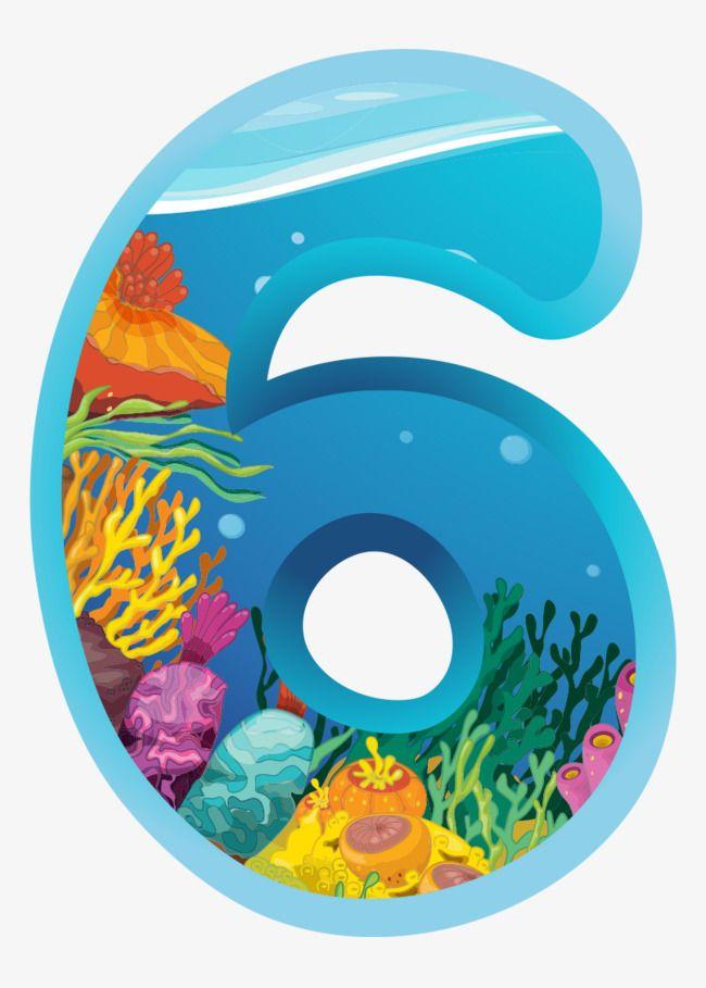 Blue Number 6
