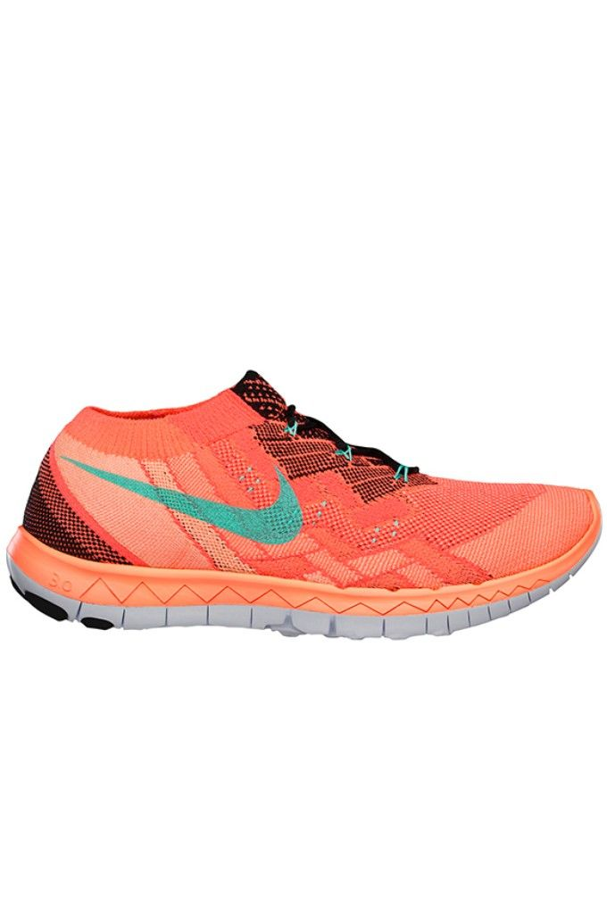 low priced d1ef5 3b71f Nike Free 3.0 Flyknit – Black   Hot Lava   Bright Mango   Hyper Turquoise