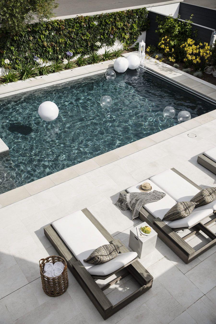 The Perfect Blueprint For A Modern Farmhouse Small Pool Design Simple Pool Backyard Pool