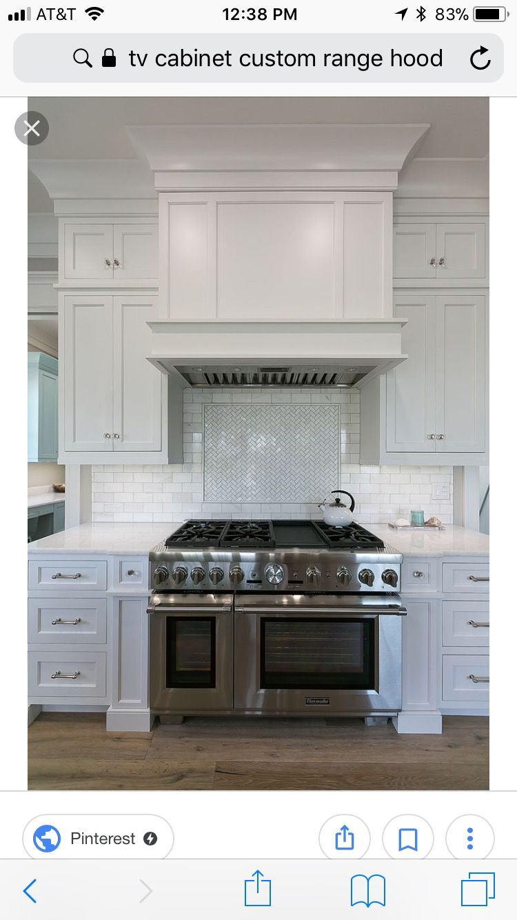 Pin By Kristin Nicole On Vent Hood Ideas White Shaker Kitchen Kitchen Kitchen Hoods