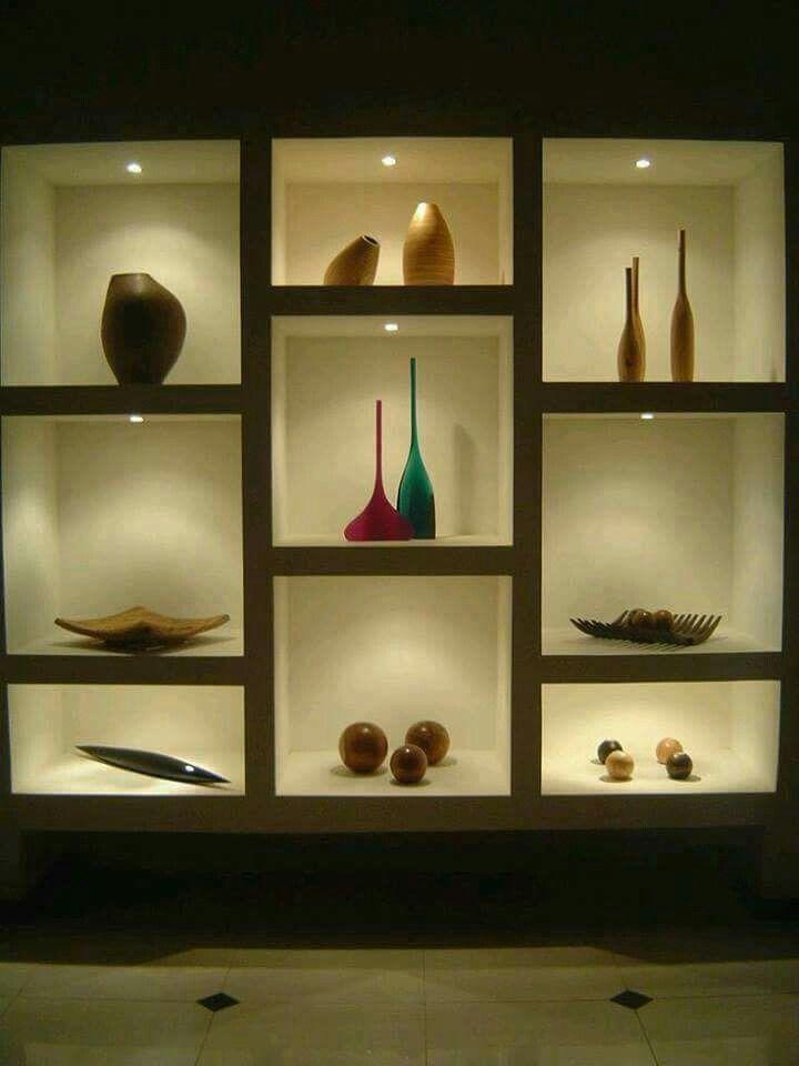 Tv Showcase Design Ideas For Living Room Decor 15524: Nichos De Pared, Divisiones De Oficina, Muebles