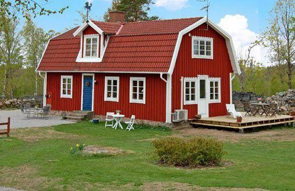 schweden wie man sich das vorstellt bernachten in schweden pinterest schweden haus. Black Bedroom Furniture Sets. Home Design Ideas