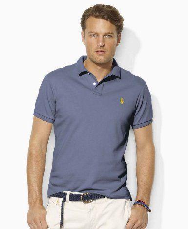 265d8e11dc66 Amazon.com  Polo Ralph Lauren Mens custom fit Interlock Polo Shirt  Clothing