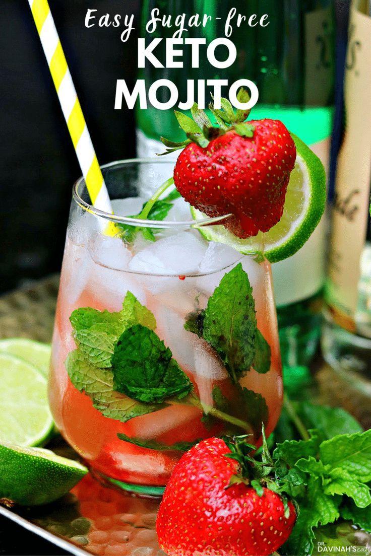 Easy Keto Vodka Mojito