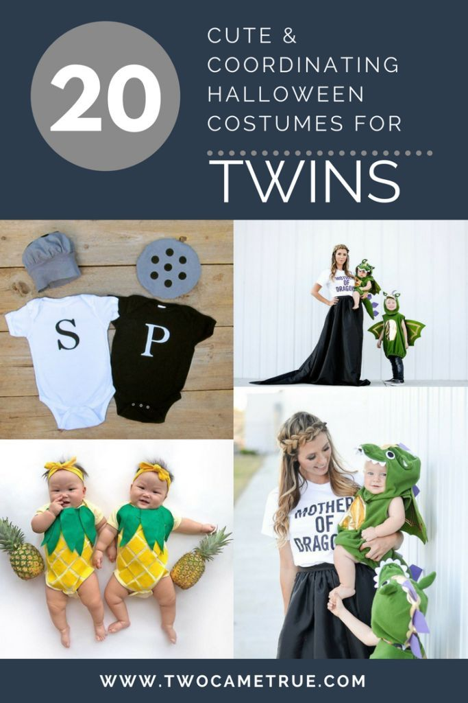 20 Cute  Coordinating Halloween Costume Ideas for Twins Twin - twin boy halloween costume ideas
