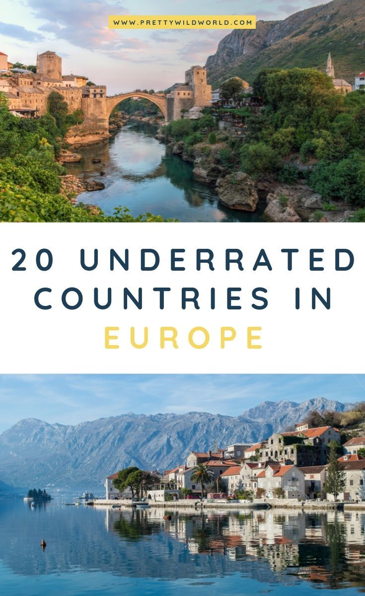 The 20 BEST Underrated Countries in Europe to Visit