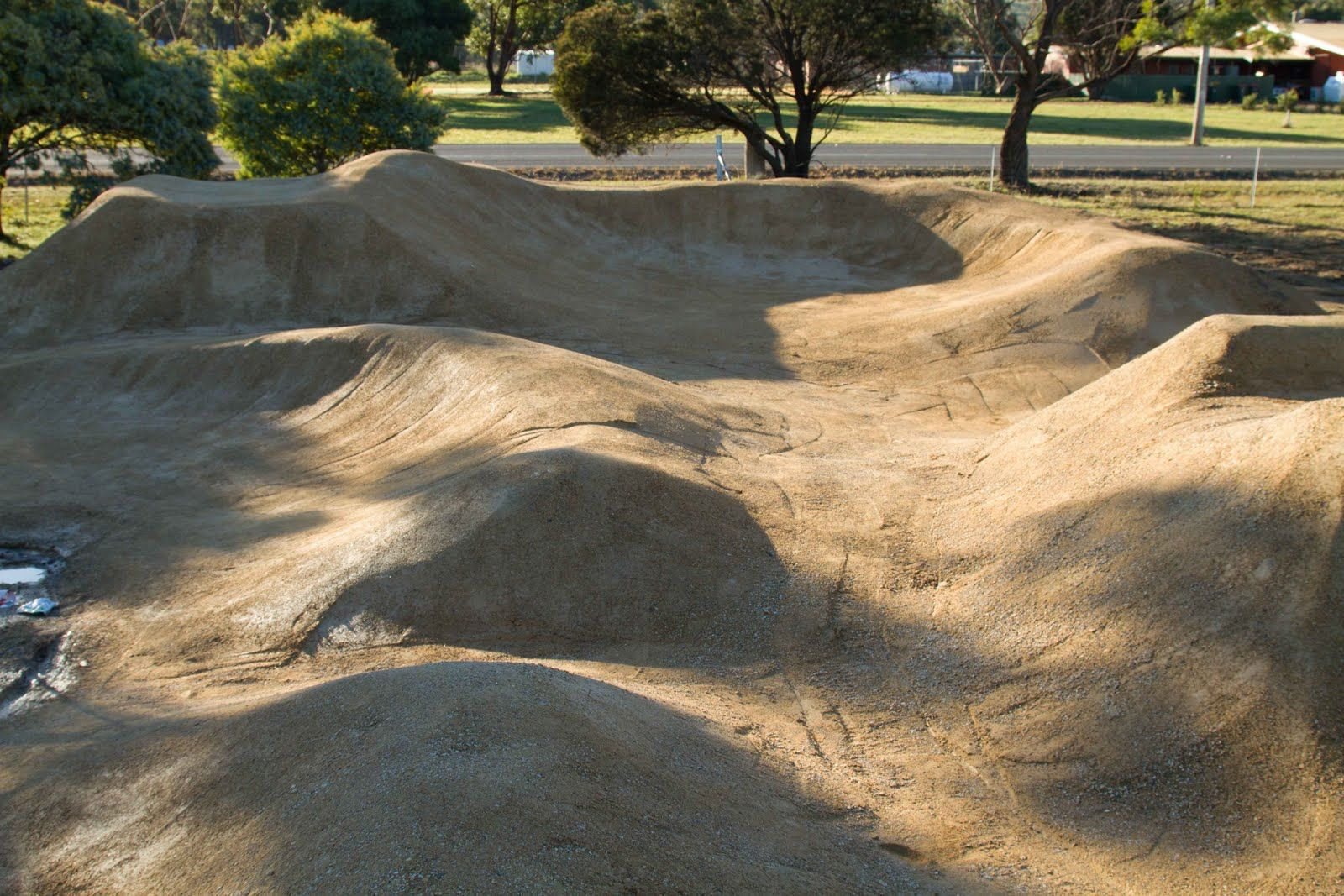 Trail Design Consultancy Construction Motocross Tracks Dirt Bike Track Bike Pump Track Mini backyard motocross track