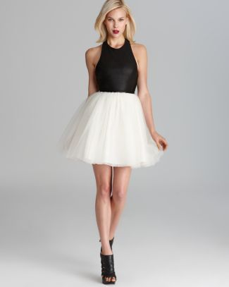 Alice Olivia Dress - Ginnifer Leather T-Back Bloomingdale's I love this for the rehearsal dinner!