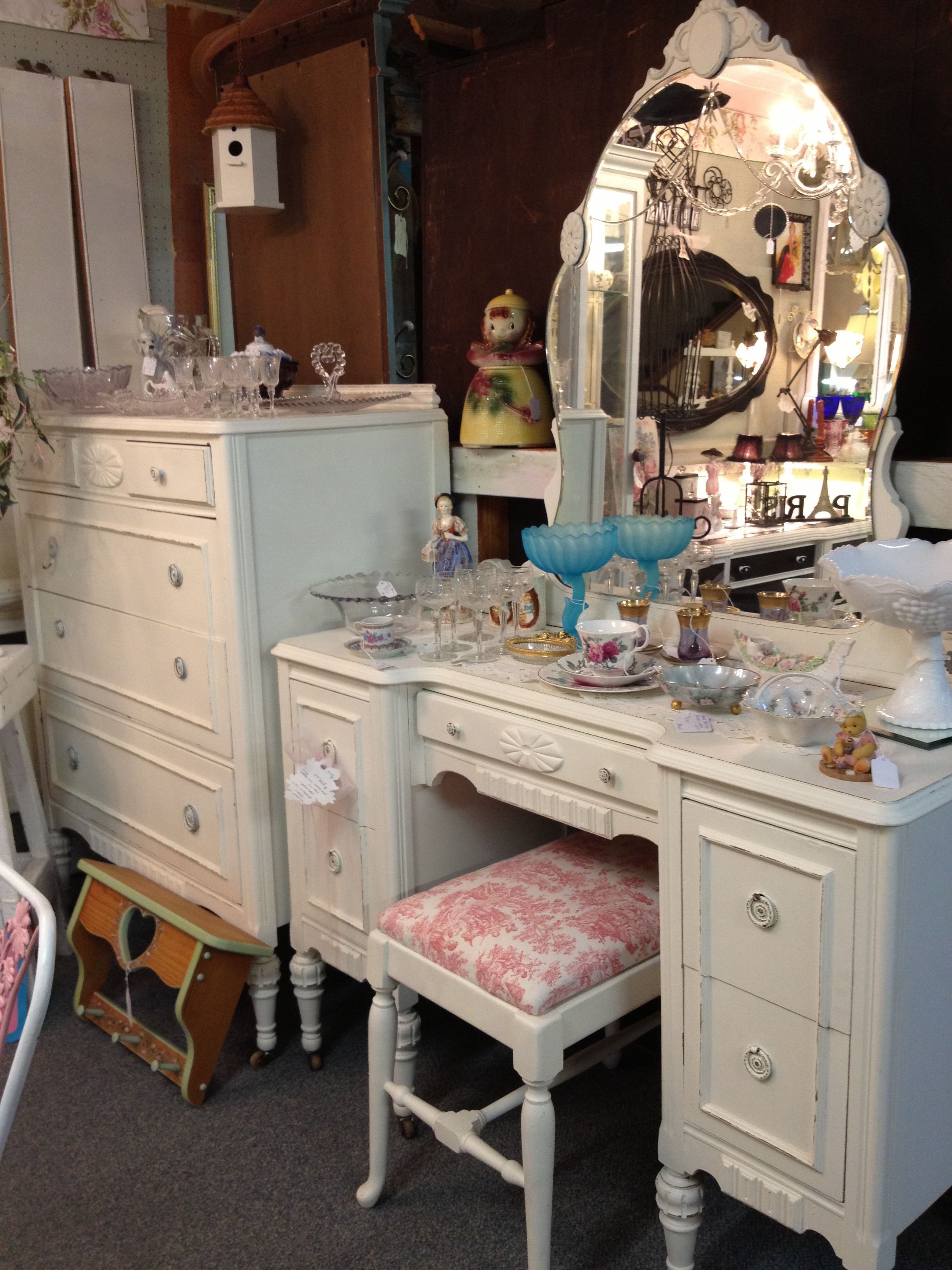 Vintage Shabby Chic Dresser Exactly What I Want In My