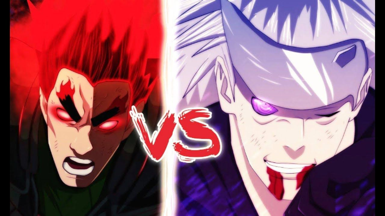 Guy vs madara english subbed full fight naruto