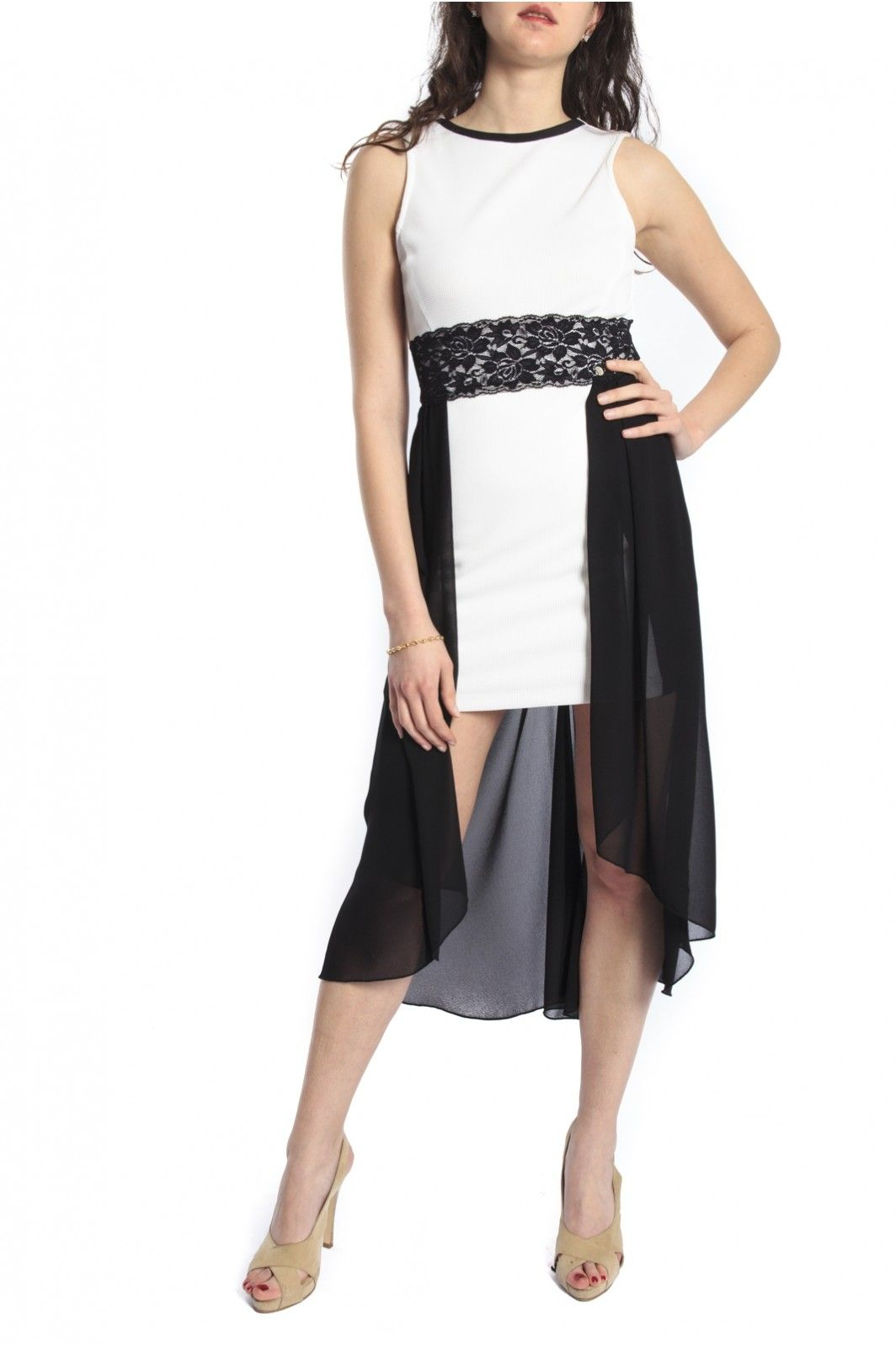 Black Dress White With Cfc0066509003 Rinascimento Artamp; PkuZiXO