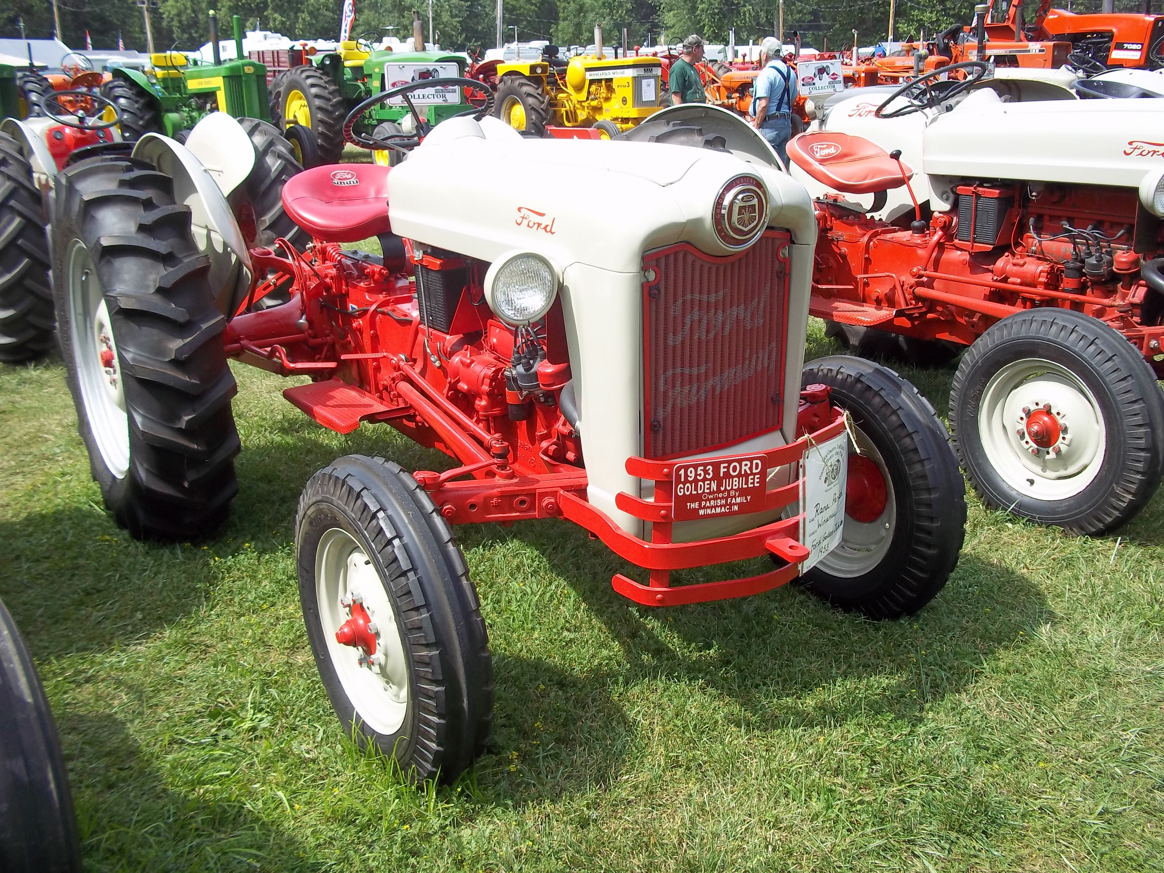 Another 1950s Ford Red Belly Tractor
