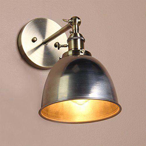 Buyee Modern Vintage Industrial Varnish Finished Metal S Https Www Amazon Co Uk Dp B015mq9mua Re Lamp Light Vintage Industrial Kitchen Indoor Wall Lights