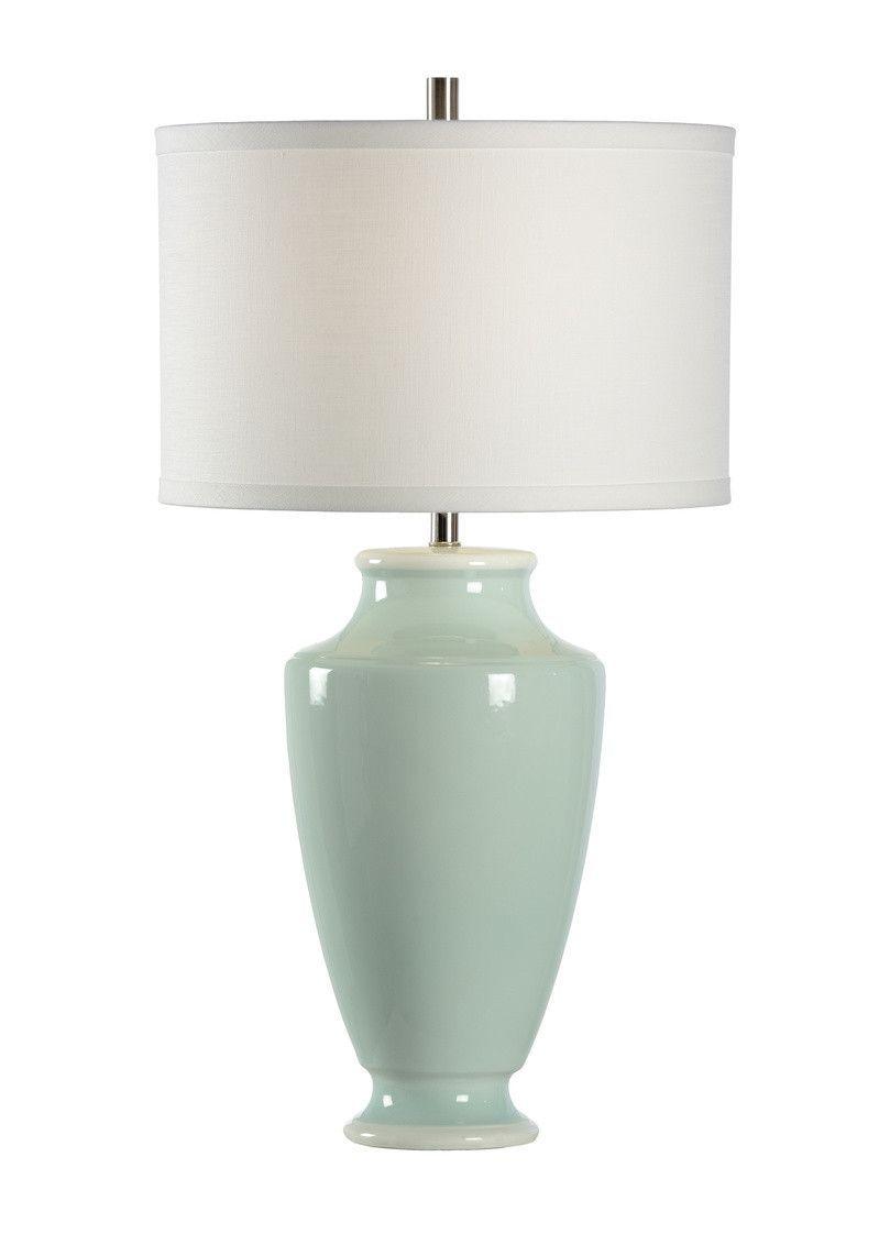 Chelsea House Warren Seafoam Light Green Table Lamp 68971 Green Table Lamp Green Lamp Table Lamp