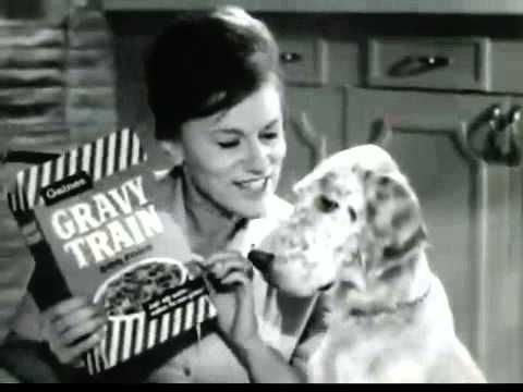 Gravy Train Dog Food Ii General Foods Vintage Commercial 1950s